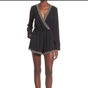 ASTR dressy shorts romper